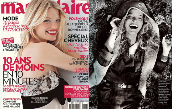 Sugar dans le magazine Marie-Claire