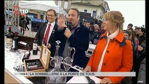 Nathalie Simon émission Midi en France porte du Sugar