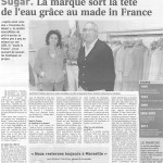 Article sugar journal des entreprises : le made in france booste la marque
