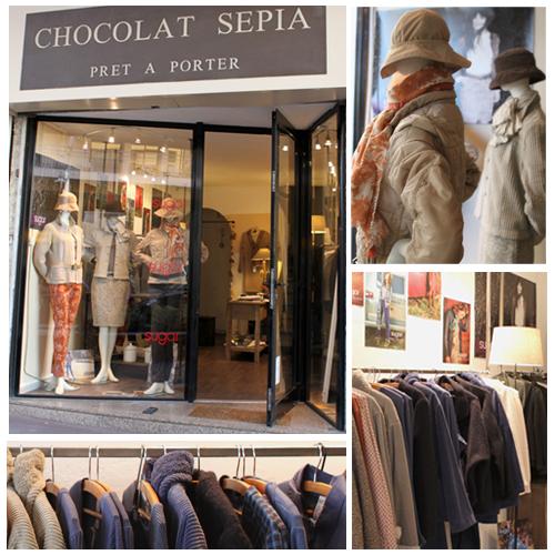 Chocolat sepia - Sugar St-Raphael