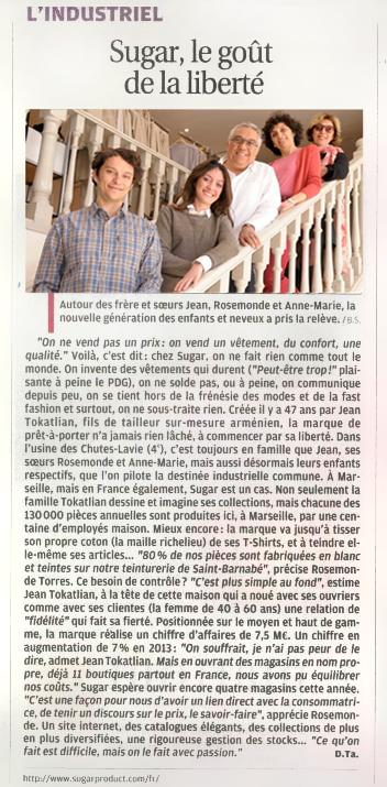 Sugar le made in France du textile