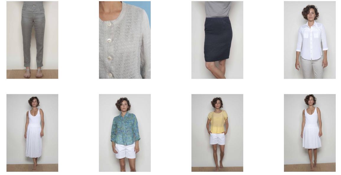 Promotion d'été : débardeur, jupe, pantalon