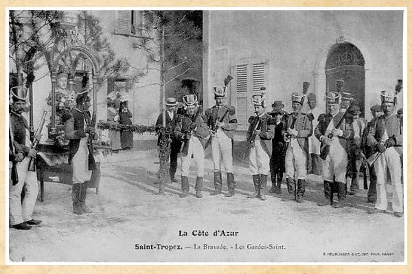 La bravade de Saint-Tropez année 1900