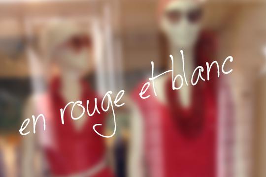 Saint-Tropez rouge et blanc