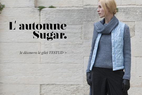 Testud La Doudoune Légère Sans Manche Pour Femme Sugar