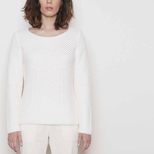 Pull élégant en laine pour femme Sugar