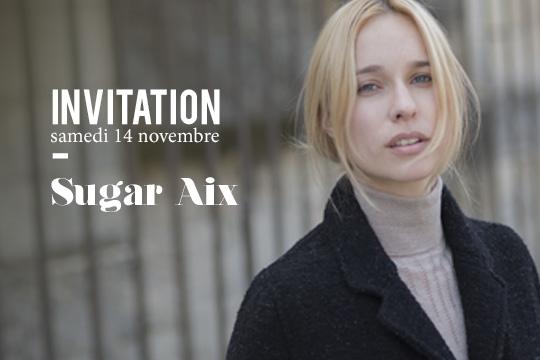 Invitation magasin femme sugar aix-en-provence