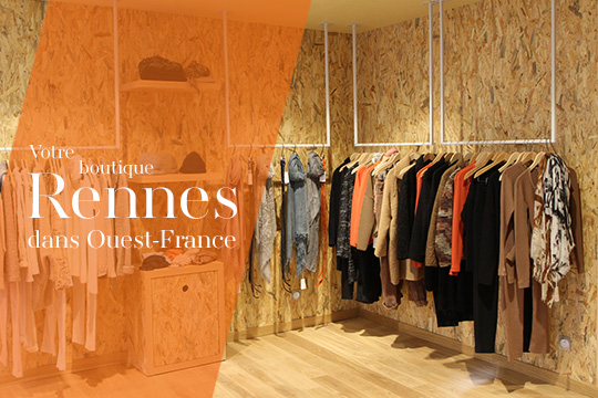 La boutique poour femme Sugar Rennes dans Ouest-France