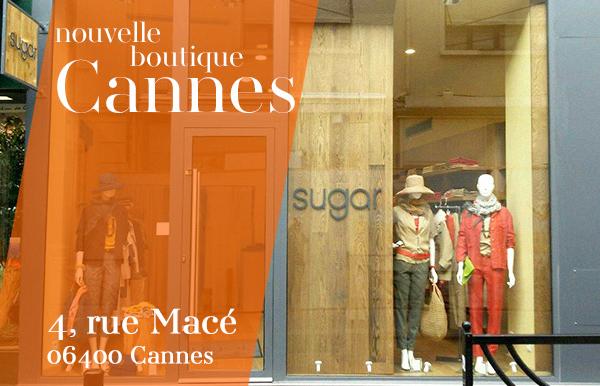 Nouvelle boutique femme Cannes Sugar
