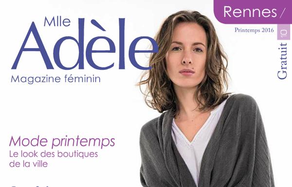 Sugar Rennes dans le magazine Féminin Melle Adèle